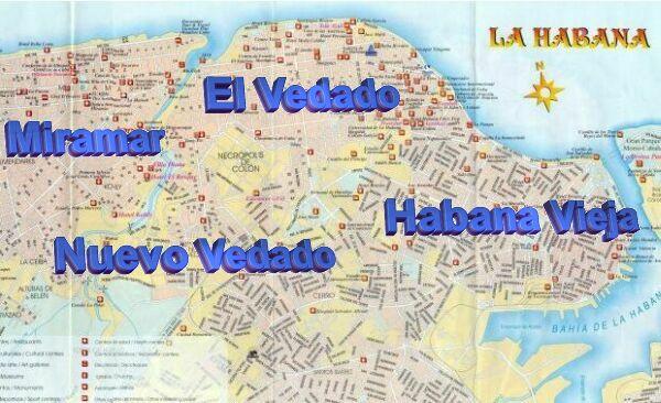 Havana Map Complete map